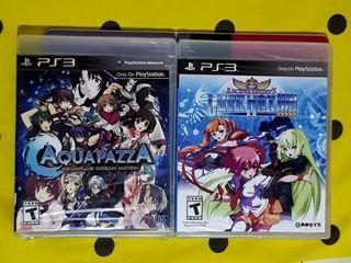 PS3 Playstation 3 Aquapazza Arcana Hearts Love max