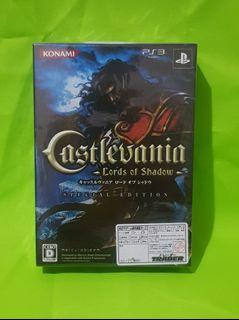 PS3 Playstation 3 Castlevania Lords of Shadow Special Edition Rare Japan
