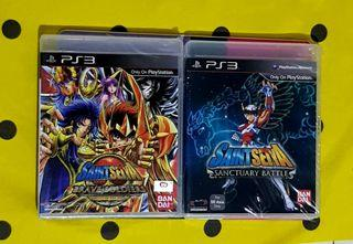 PS3 Playstation 3 Saint Seiya Brave Soldiers and Sanctuary Battle