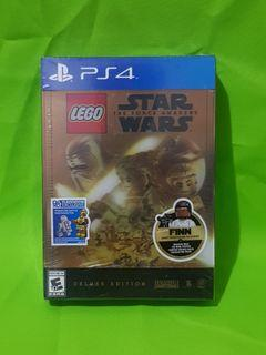 PS4 Playstation 4 Lego Star Wars The Force Awakens Deluxe Edition