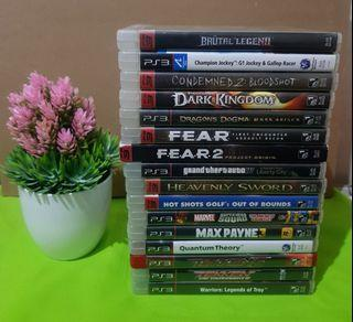 Rare to Uncommon PS3 Playstation 3 Games