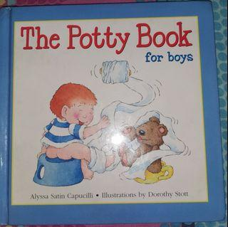 The Potty book for boys