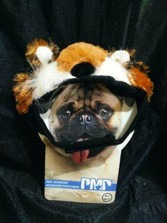 Tiger Hat Accessory for Dog