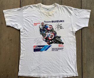 Vintage Team Suzuki Kenny Roberts Permotoran T-shirt