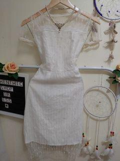 Buy 1 Take 1 White Dresses
