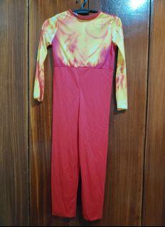 Fantastic 4 Human Torch Fire Costume 7-8yo