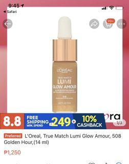 L'Oreal, True Match Lumi Glow Amour, 507 Daybreak