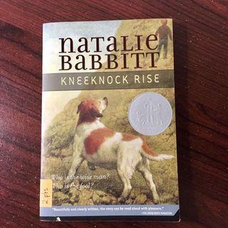 Newbery Honor Book: Kneeknock Rise by Natalie Babbitt