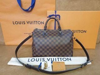 Original Louis Vuitton Speedy 30 Bandouliere Damier
