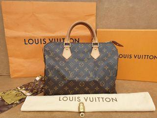 Original Louis Vuitton Speedy 30 Monogram