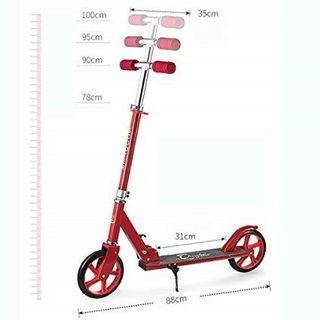 Turbo type bold wheel more bearing Foldable Kick Scooter 5-12yrs old