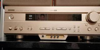 售:二手山葉7.1聲道環繞擴大機 型號:AX420 功能正常無遙控 🤑:3500元。  🚚:200元