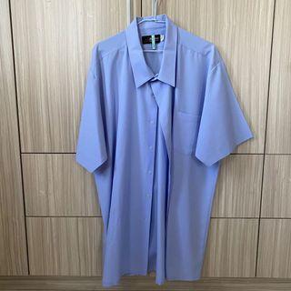 男性 襯衫 大尺碼 大尺寸 5XL 正裝 正式服 短袖襯衫 面試 工作
