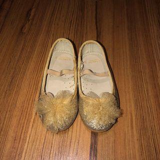 ❤️ ZIPPY SPAIN Gold Sparkling Shoes