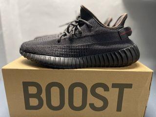 Adidas Yeezy Boost 350 v2 Black Static (Size 10.5 US)