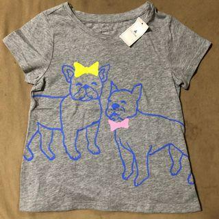 Authentic Baby Gap embellished graphic short sleeve tee