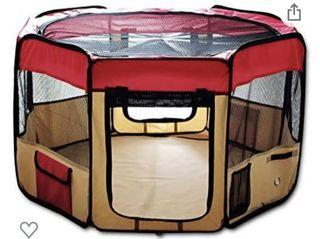 """Collapsible playpen 48"""" for pets chinchilla rabbit cat dog puppy"""