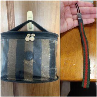 正品Fendi包+Gucci手機鑰匙
