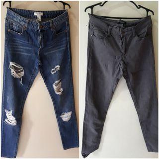 HW Forever 21 jeans get 2 for 200