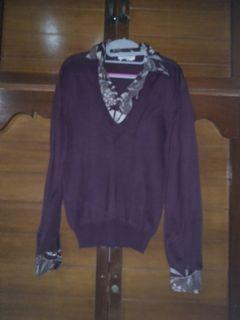imported knit top