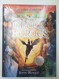 Percy Jackson's Greek Heroes (Hard Bound)