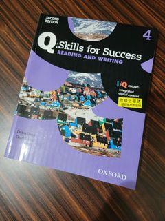【二手/有畫記】Q:Skills for Success 4 Reading and Writing Student Book