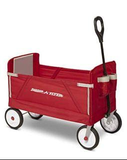 Radio Flyer - 3-in-1 Wagon, Base, Red