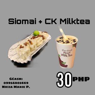 Shopee Sharetreats Master Siomai+CK Milktea