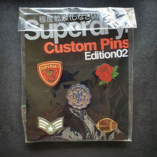 SUPERDRY Custom Pins (5pcs)