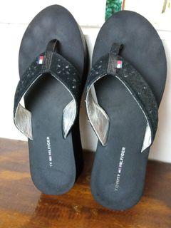 Tommy wedge slippers