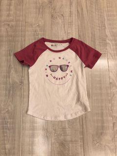 Under  armed安德瑪女童短袖T恤