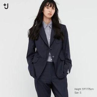 Uniqlo Jersey Blazer Jacket New