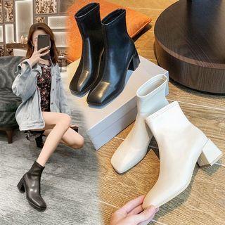 ✨ 切爾西短靴 踝靴 短靴 高跟靴 馬丁靴 粗跟 彈力靴 瘦瘦短靴 中跟方頭靴 新款短靴