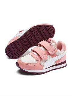 ❤️ PUMA Pink Leather Toddler Sneakers