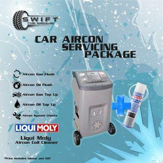 Car Aircon Servicing Package
