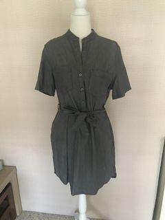 Denim Co. Tie Bow Dress with Pockets (bought from Germany)