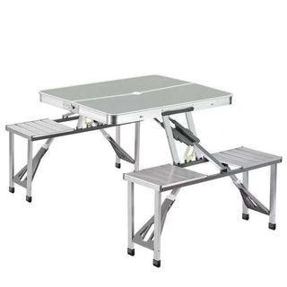 Foldable Aluminum Picnic Table