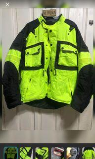 Motorcycles jacket fit large to xlarge