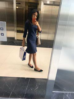 Navy Dress Executive
