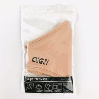 Oxygen  Beige Neoprene Face Mask  (Medium)
