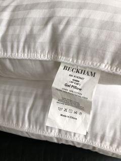 Pair of Beckham Queen Size Gel Pillows 20x28