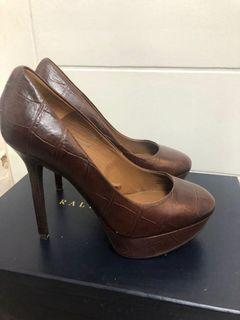 ZARA brown Heels Size US6 36 New