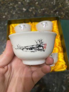 日月潭風情茶杯6入禮盒