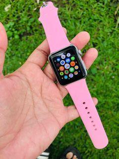 Apple Watch edisi langka Stainlessteel series 1 38mm iwatch mewah