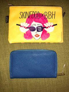 BUNDLE OF Two Pouch & Wallet