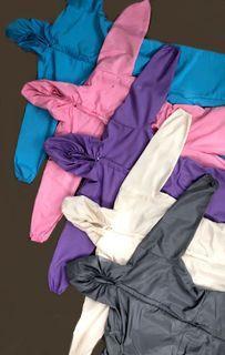 Bunny Suit (L; Pink & Purple)