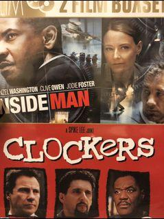 Clockers / Inside Man 雙電影組合 2DVD 美國進口 Spike Lee 史派克李 Denzel Washington 丹佐華盛頓 茱蒂佛斯特