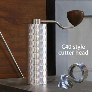 Coffee grinder (Comandante like burr geometry)