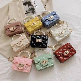Cute Mini Fashion Sling Jelly bag for kids