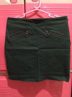 Forever 21 Moss Green Skirt